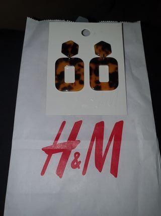 Pendientes H&M nuevos