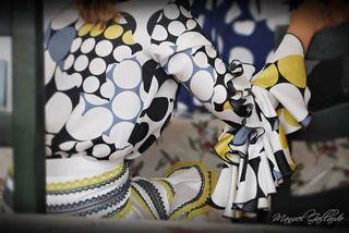 traje de Flamenca del diseñador Pepe Jiménez El Aj