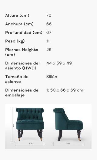 Sillón/Butaca marca made.com