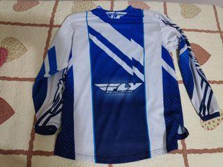 Camiseta manga larga Enduro, DH, Motocross FLY Rac