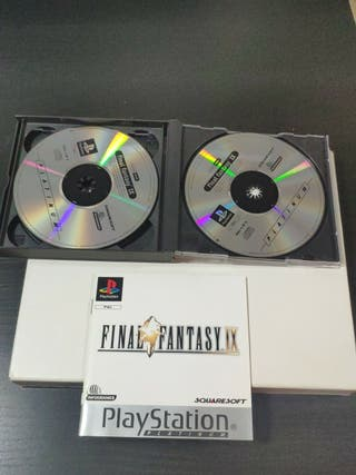 juego final fantasy IX de Playstation completo