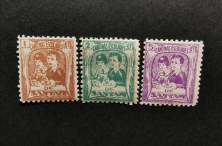 Serie sellos Guerra Civil Santafe Granada. Nuevos