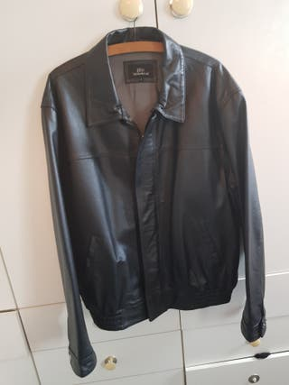 Leather jacket L