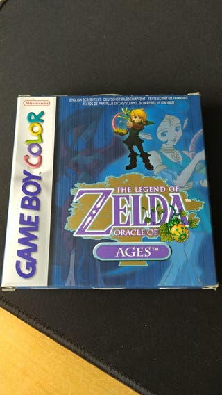 Zelda Oracle of Ages Game boy color
