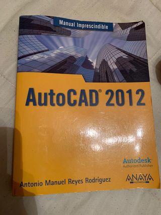 Se vende libro autocad 2012