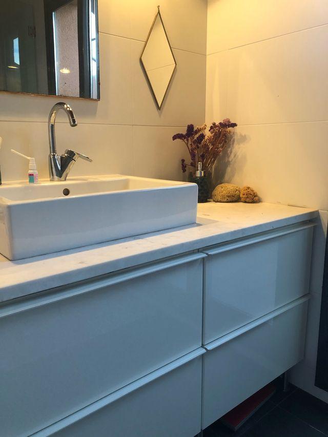 Muebles baño Ikea 100x47x58 y 60x47x58 de segunda mano por ...