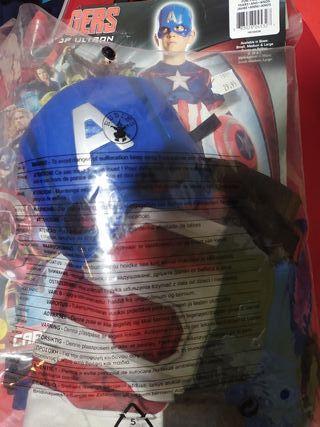 disfraz niño capitán América
