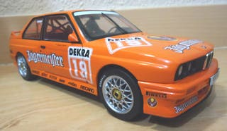 BMW M3 E30 DTM JAGERMEISTER HAHNE 1:18