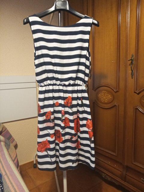 vestido rayas marinero