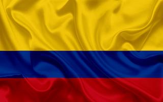 Bandera Colombia tela 150cm x 90cm nueva