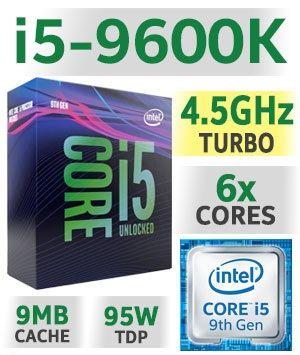 Intel core I5 9600K con garantia