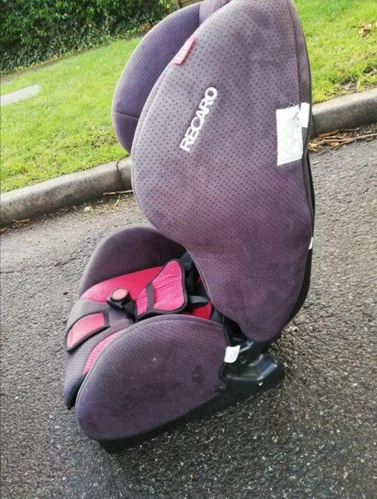 Recaro kid car seat