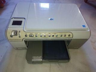 Impresora multifunción color HP Photosmart C5280