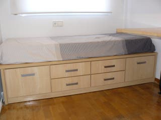 Mueble cama con cajones