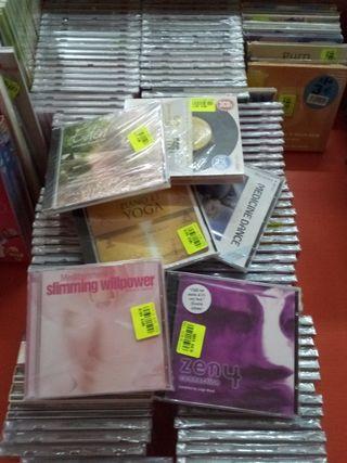lote de 122 cd nuevos en su blister
