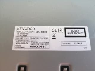 KENWOOD KDC-164UR. Radio-cd-usb para vehículo