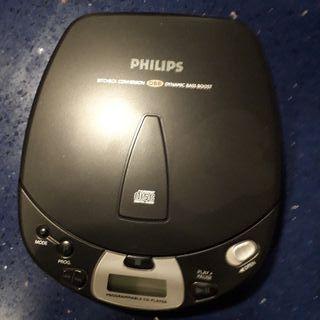 Reproductor Cd Philips portátil