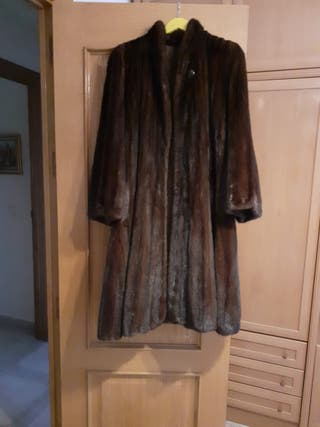abrigo vison diseño juvenil