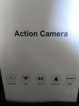 cámara deportiva a estrenar cbx 4k