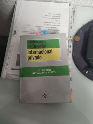 legislación basica derecho internacional privado