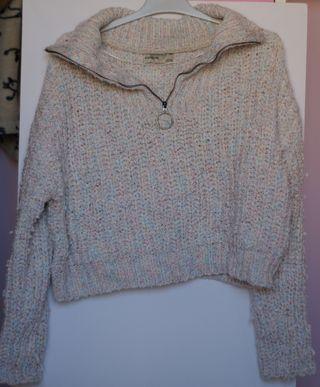 jersey de lana corto