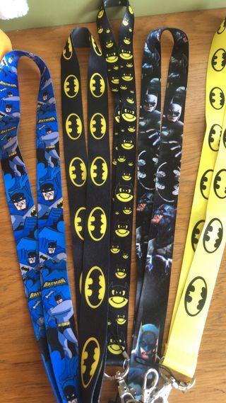 Batman lanyards