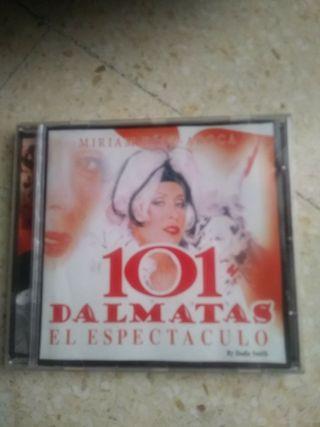 Cd música pelicula 101 dalmatas