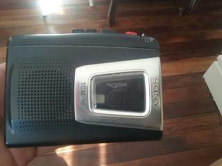 grabadora de voz. casette.Sony