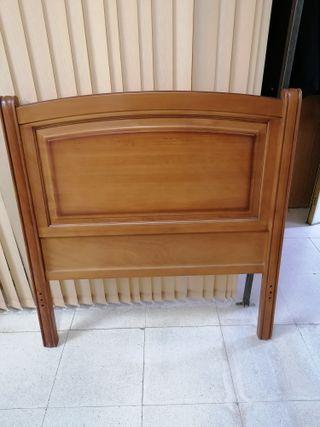 Cabecera de cama de 105 madera