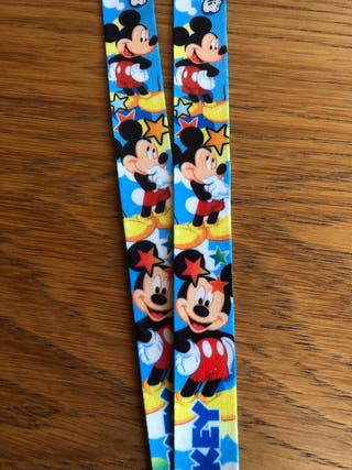 Mickey Minnie and friends lanyards