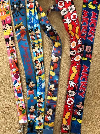 Mickey lanyards