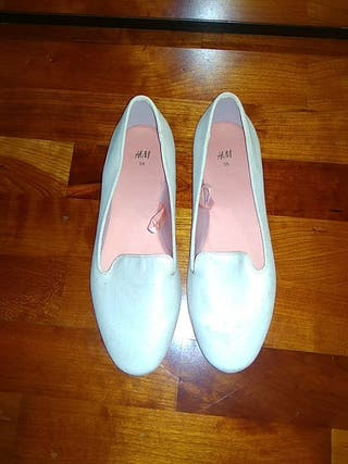 zapato plano mujer bailarina primavera sin estrena