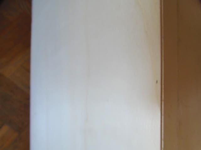 caja madera de jamón. cierre metalico
