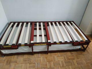 litera plegable convertible en cama, marca Pardo