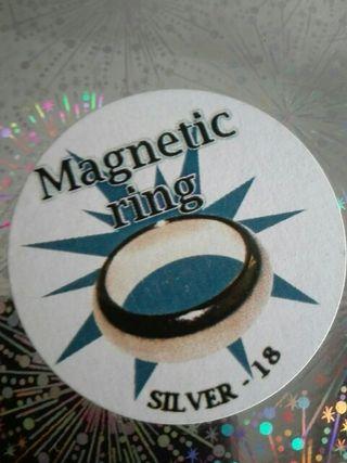 Truco de magia ANILLO MAGNETICO