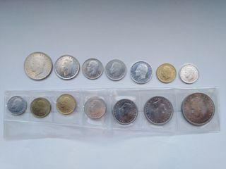 Lote de monedas sin circular de Juan Carlos I