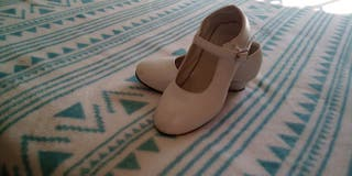 Zapatos flamenca talla 30
