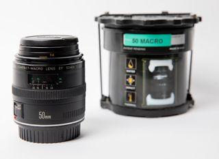 Objetivo Canon Macro 50mm f2.5