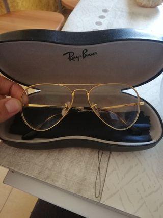 Gafas Ray ban Aviator dorada