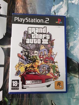 GTA III PS2 completo