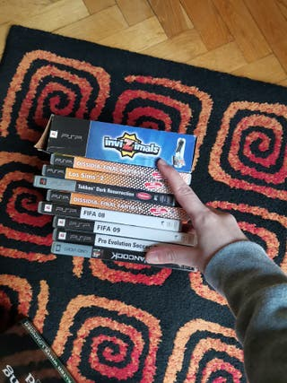 Lote 8 videojuegos psp