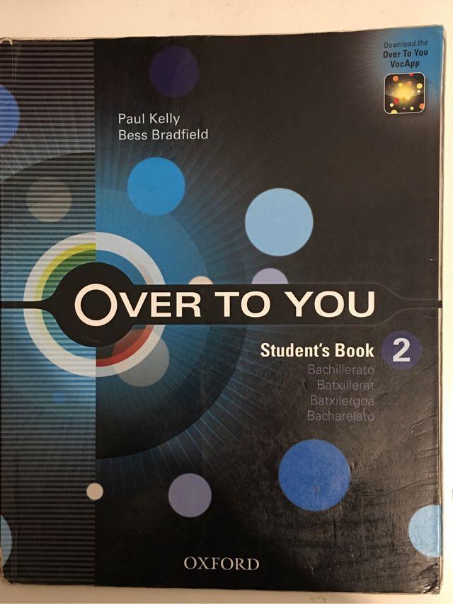 Libros de inglés Over to you 2 bachillerato