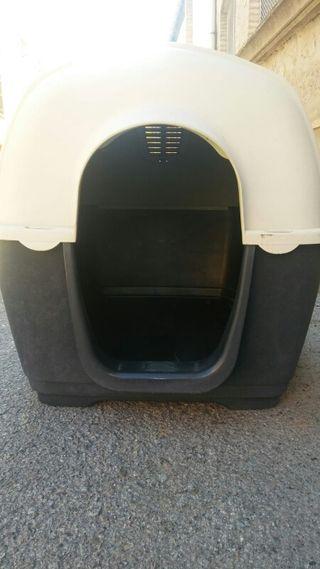 Caseta resina aislante perros medianos