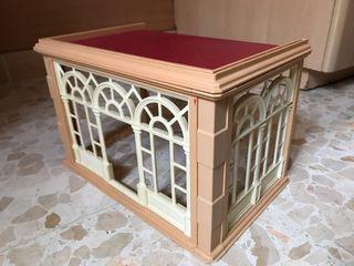 Playmobil porche salón casa victoriana