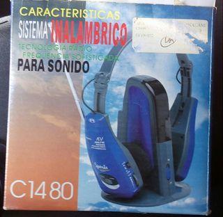 Auriculares inalambricos con radio incorporada