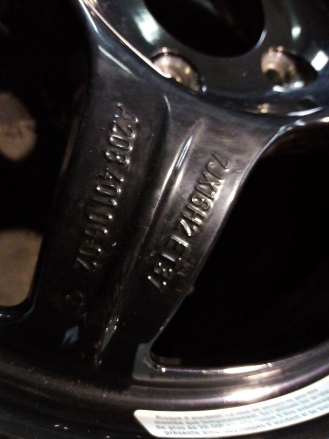 Llanta de Mercedes de 16 pulgadas para repuesto