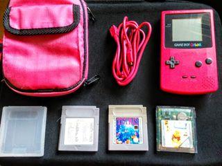 Nintendo Game boy Vintage color rosa