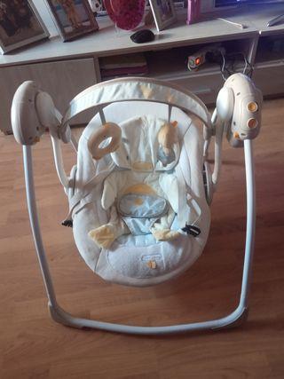 Hamaca electrica para bebé