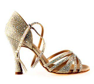 Zapatos bailes latinos Golden - NUEVOS