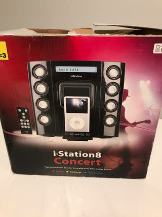 Mini cadena- altavoz. Logic3. IStation